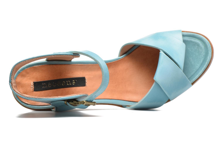 Sandales et nu-pieds Neosens Noah S216 Bleu vue gauche