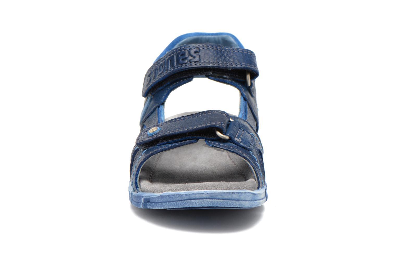 Sandales et nu-pieds Stones and Bones PANNO Bleu vue portées chaussures
