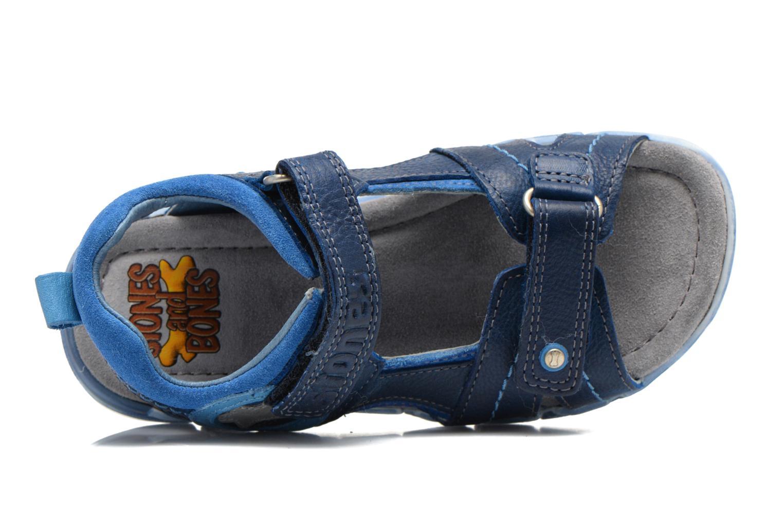 Sandales et nu-pieds Stones and Bones PANNO Bleu vue gauche