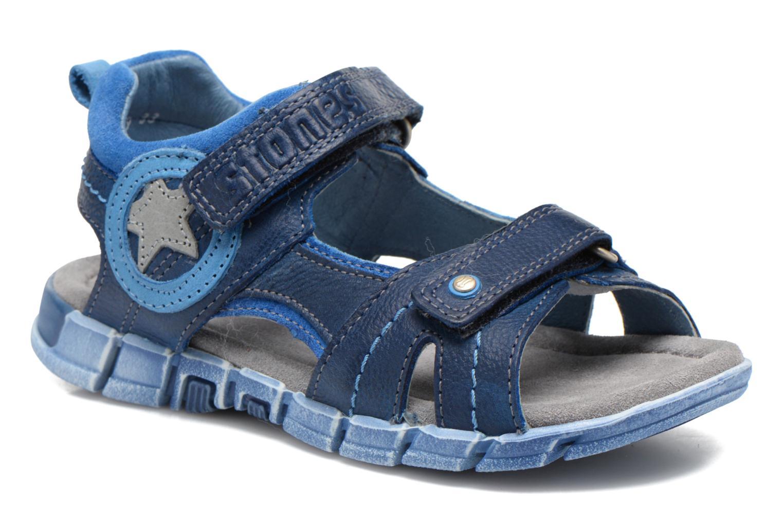 Sandales et nu-pieds Stones and Bones PANNO Bleu vue détail/paire