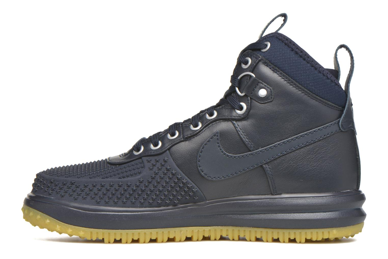 Deportivas Nike Lunar Force 1 Duckboot Azul vista de frente