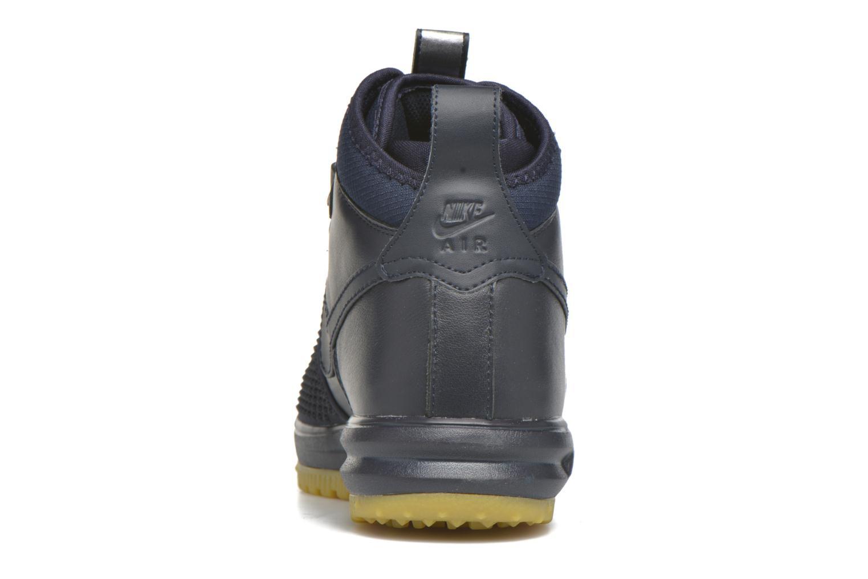 Deportivas Nike Lunar Force 1 Duckboot Azul vista lateral derecha