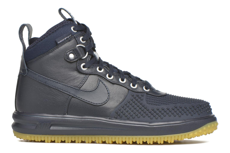 Deportivas Nike Lunar Force 1 Duckboot Azul vistra trasera