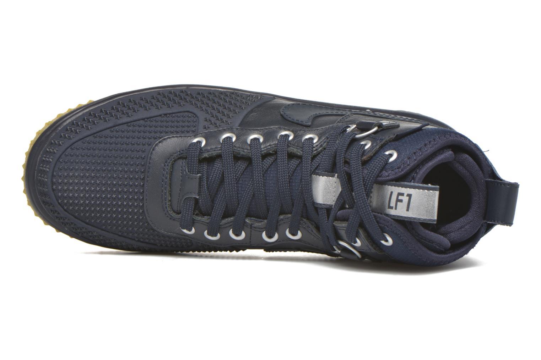 Deportivas Nike Lunar Force 1 Duckboot Azul vista lateral izquierda