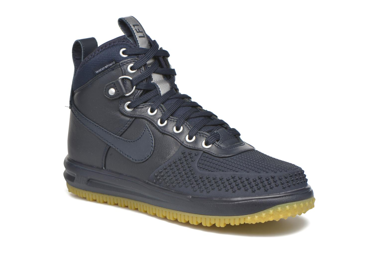 Deportivas Nike Lunar Force 1 Duckboot Azul vista de detalle / par