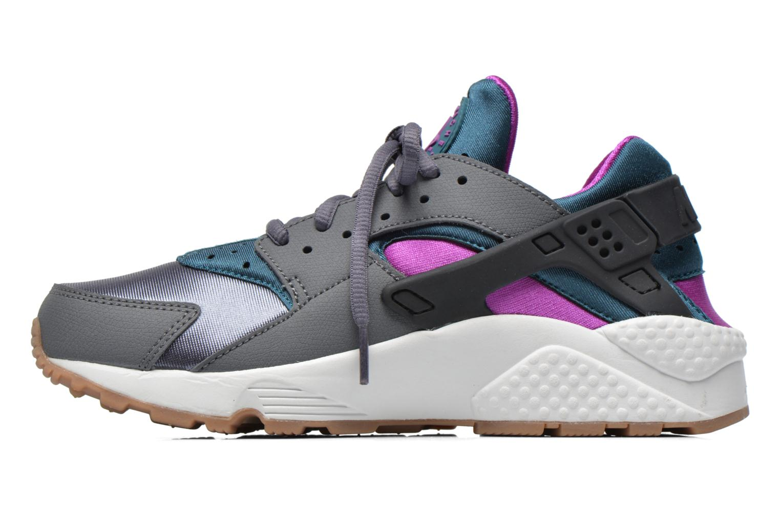 Wmns Air Huarache Run Dark Grey/Teal