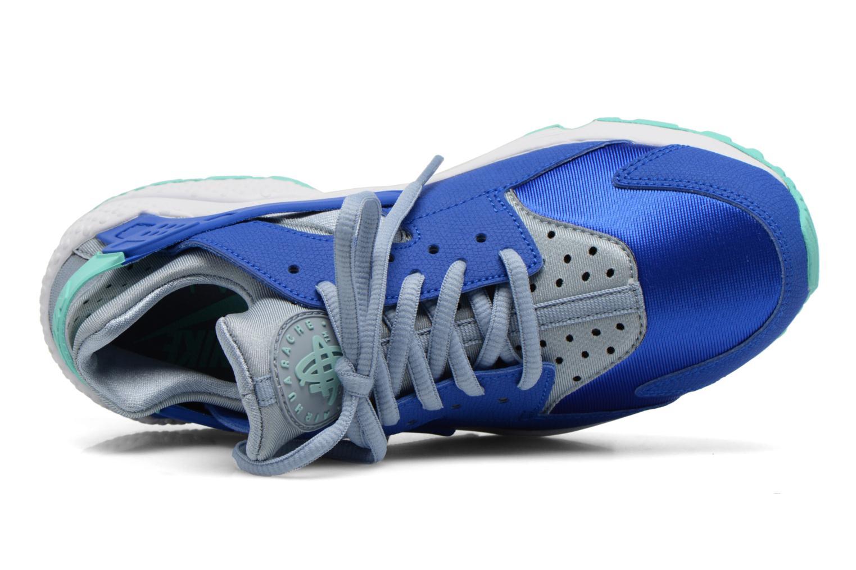 Sneaker Nike Wmns Air Huarache Run blau ansicht von links