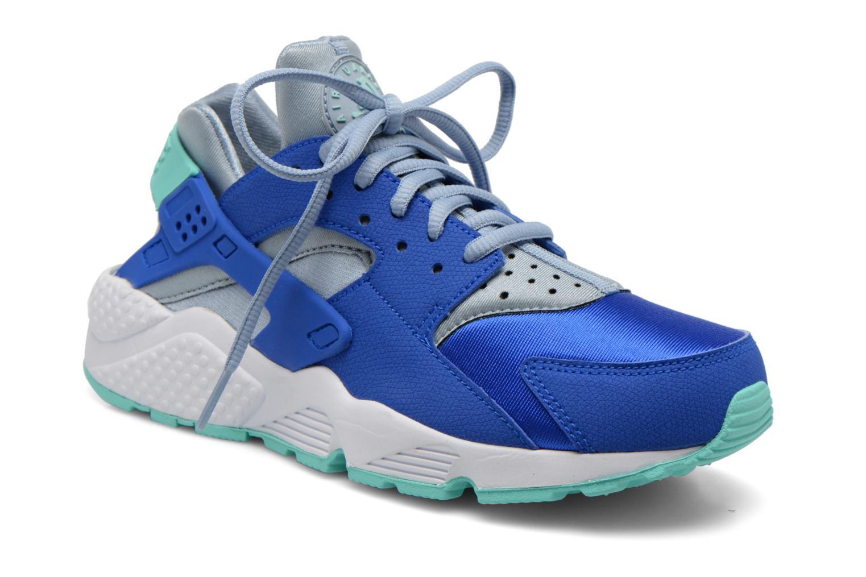 Baskets Nike Wmns Air Huarache Run Bleu vue détail/paire