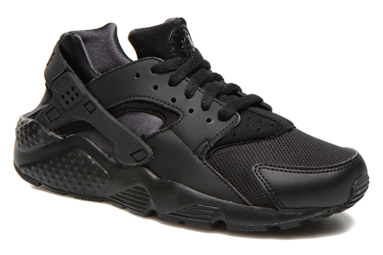 Nike Huarache Zwart Met Witte Zool