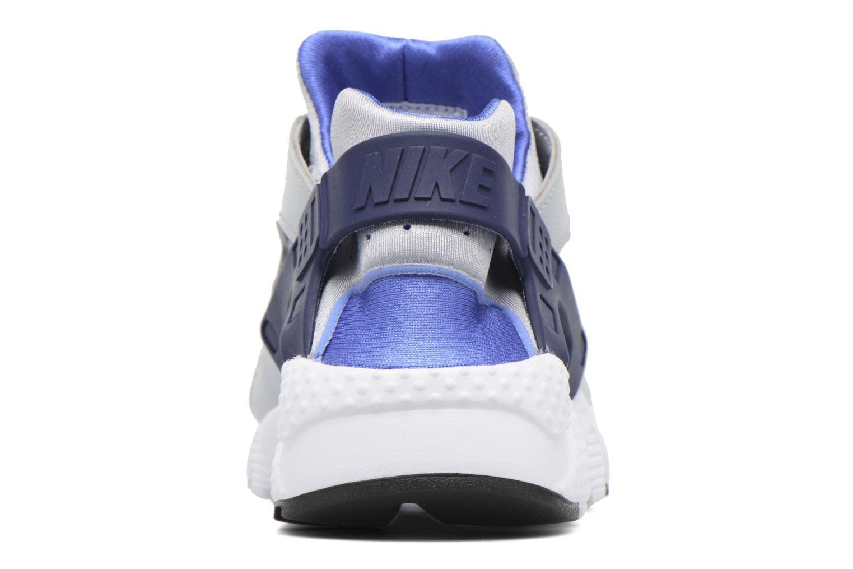 Baskets Nike Nike Huarache Run (Gs) Gris vue droite