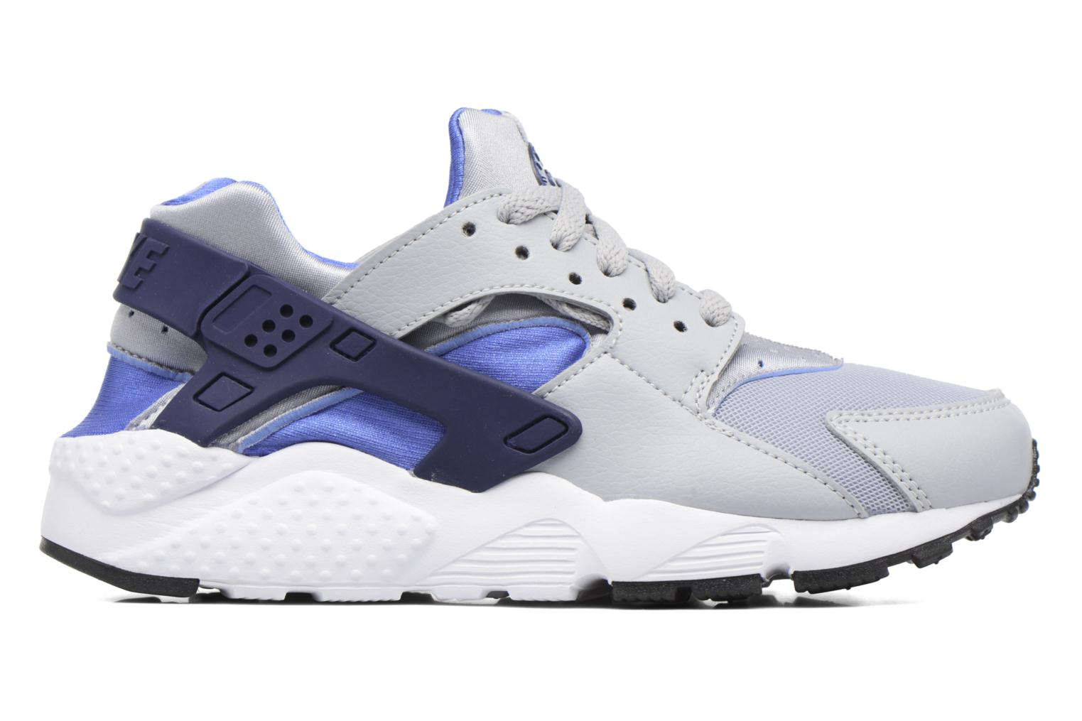 Nike Huarache Run (Gs) Wolf Grey/Binary Blue-Comet Blue-White