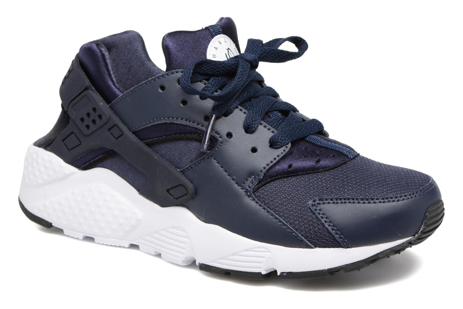 Nike Huarache Run (Gs) Obsidian/Obsidian-Black-White