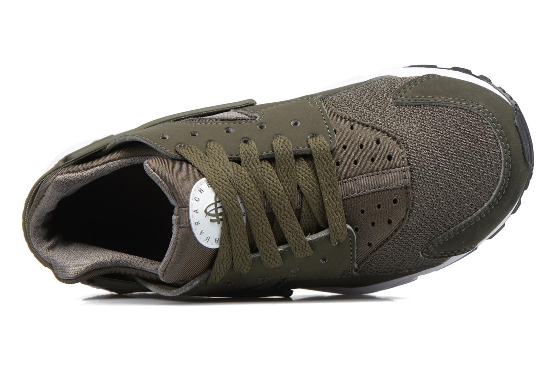 Nike Huarache Run (Gs) Cargo Khaki/Cargo Khaki-White-Black
