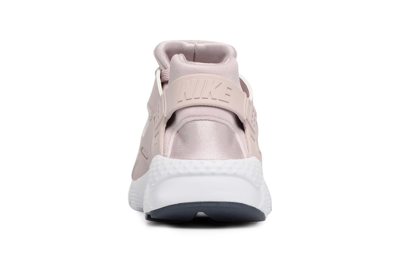 Baskets Nike Nike Huarache Run (Gs) Rose vue droite