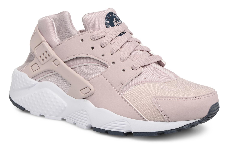 Baskets Nike Nike Huarache Run (Gs) Rose vue détail/paire