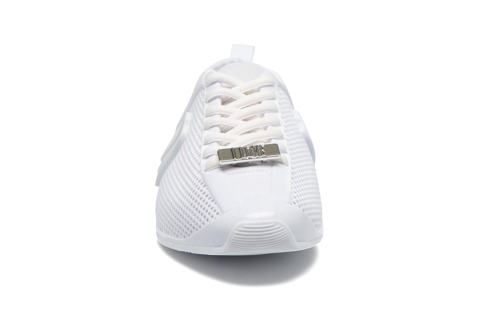 Sneakers Melissa MELISSA LOVE SYSTEM NOW AD Bianco modello indossato