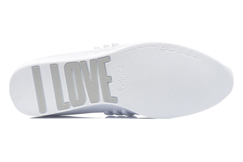 Baskets Melissa MELISSA LOVE SYSTEM NOW AD Blanc vue haut