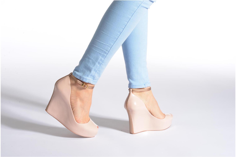 Sandales et nu-pieds Melissa MELISSA PATCHULI X AD Noir vue bas / vue portée sac