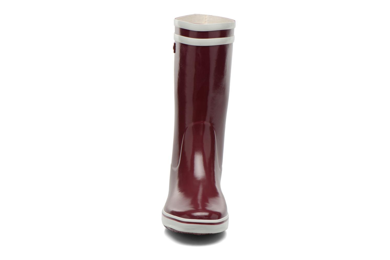 Bottines et boots Aigle Malouine BT Bordeaux vue portées chaussures