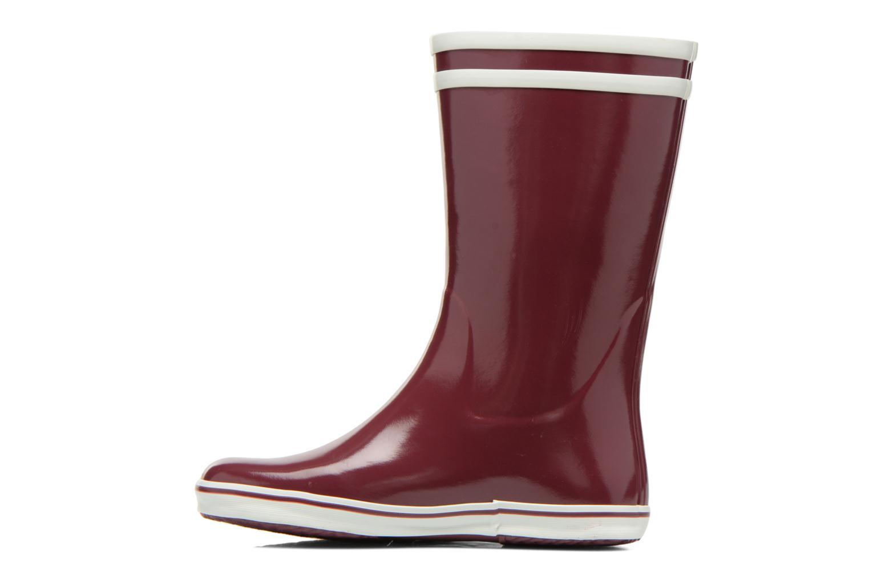 Bottines et boots Aigle Malouine BT Bordeaux vue face