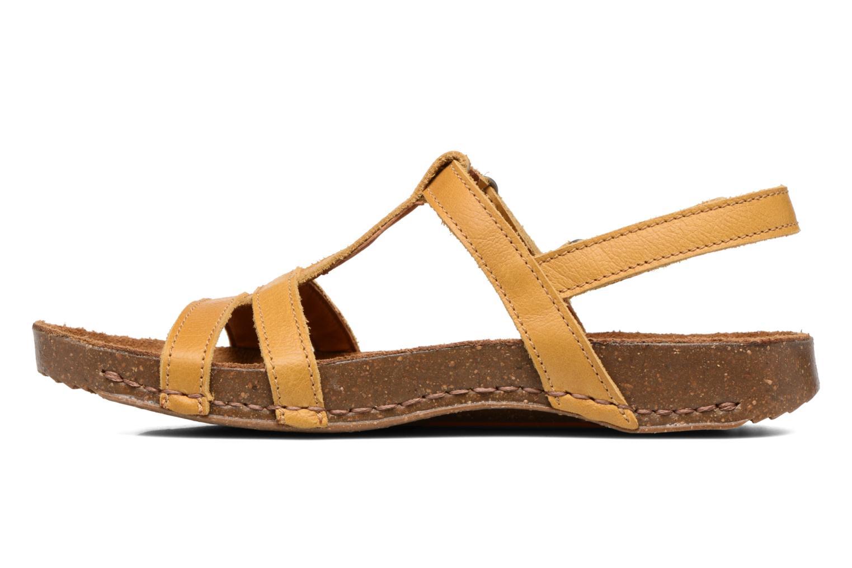 Sandales et nu-pieds Art I Breathe 946 Jaune vue face