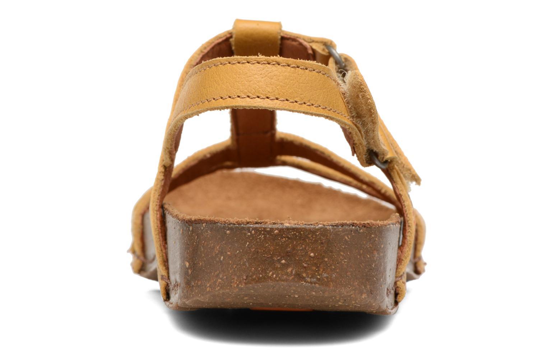 Sandales et nu-pieds Art I Breathe 946 Jaune vue droite