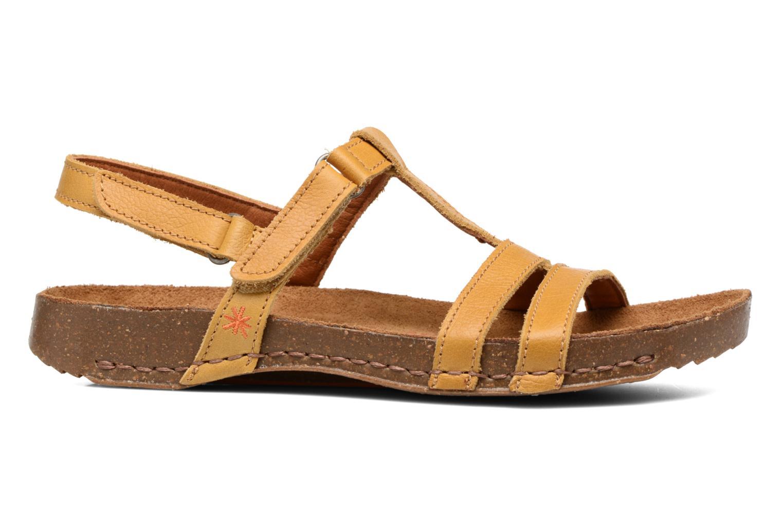 Sandales et nu-pieds Art I Breathe 946 Jaune vue derrière