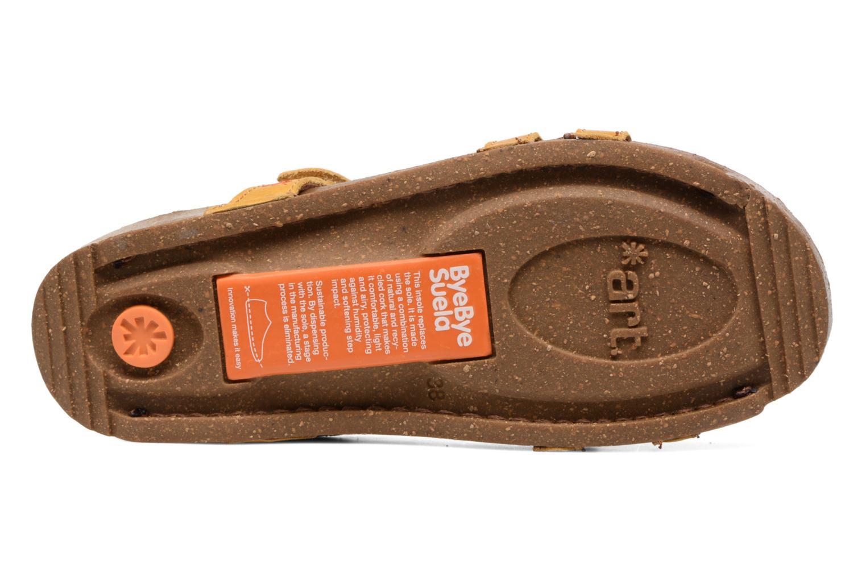 Sandales et nu-pieds Art I Breathe 946 Jaune vue haut