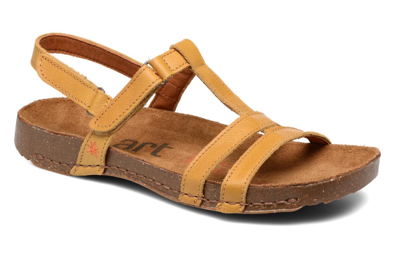 Sandales et nu-pieds Art I Breathe 946 Jaune vue détail/paire