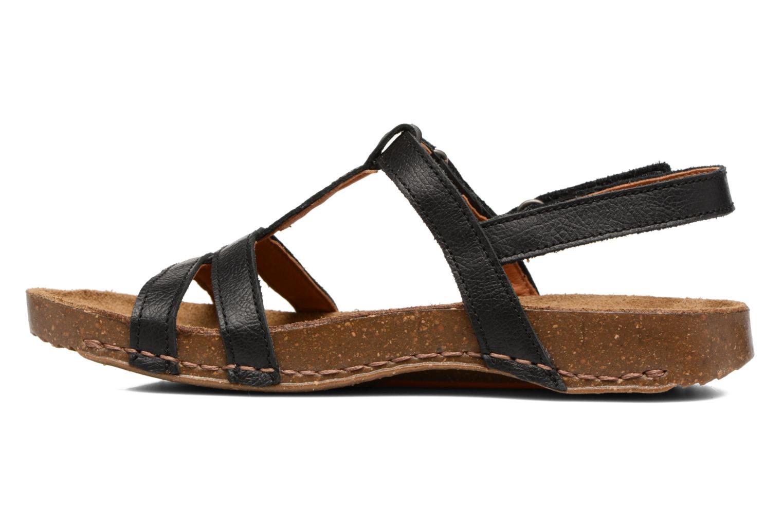 Sandales et nu-pieds Art I Breathe 946 Noir vue face