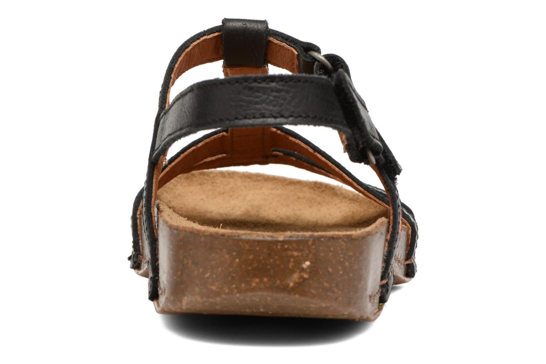 Sandales et nu-pieds Art I Breathe 946 Noir vue droite