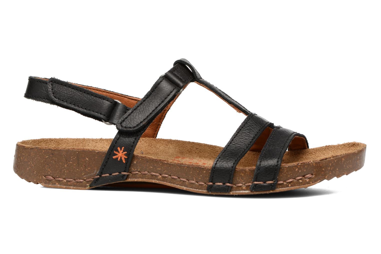 Sandales et nu-pieds Art I Breathe 946 Noir vue derrière