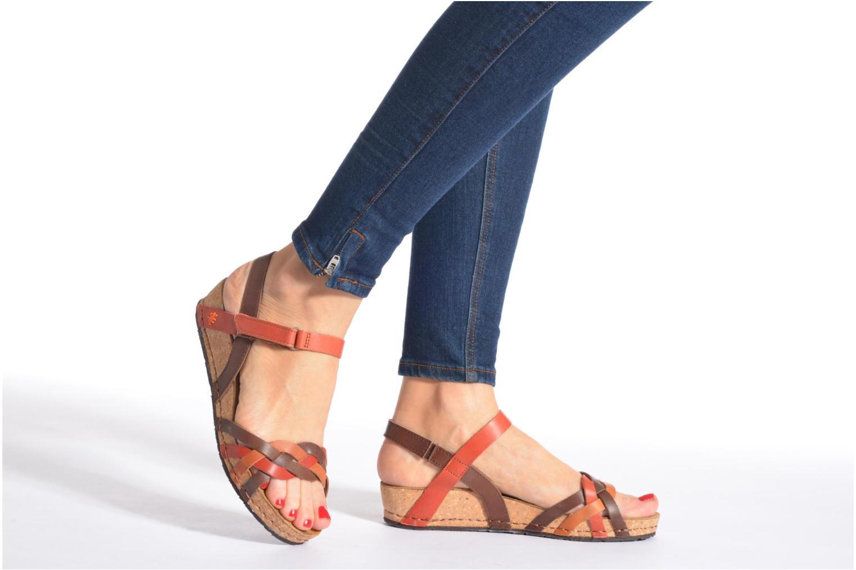 Sandali e scarpe aperte Art Pompei 735 Marrone immagine dal basso
