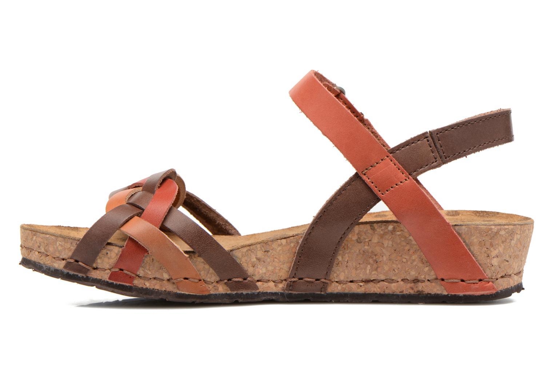 Sandali e scarpe aperte Art Pompei 735 Marrone immagine frontale