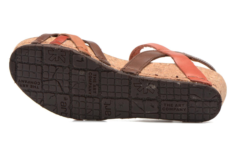 Sandali e scarpe aperte Art Pompei 735 Marrone immagine dall'alto