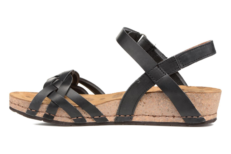 Sandales et nu-pieds Art Pompei 735 Noir vue face