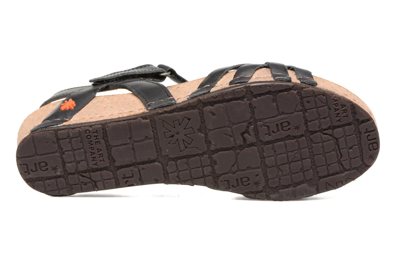 Sandales et nu-pieds Art Pompei 735 Noir vue haut