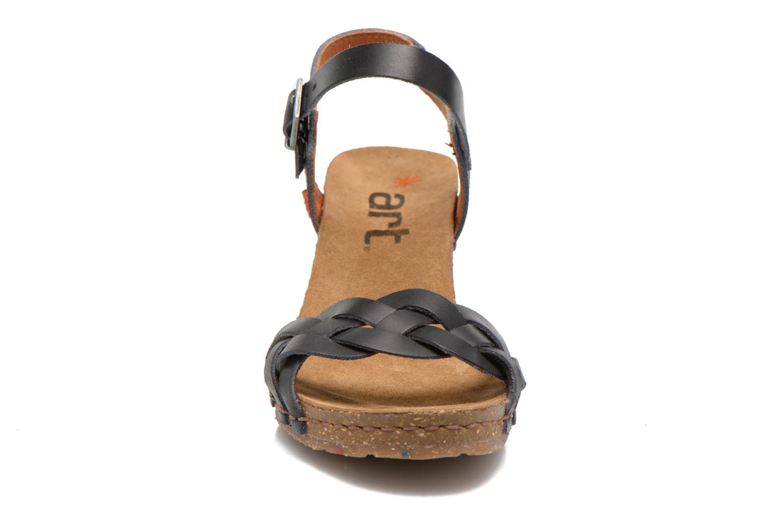 Sandales et nu-pieds Art Valby 439 Noir vue portées chaussures