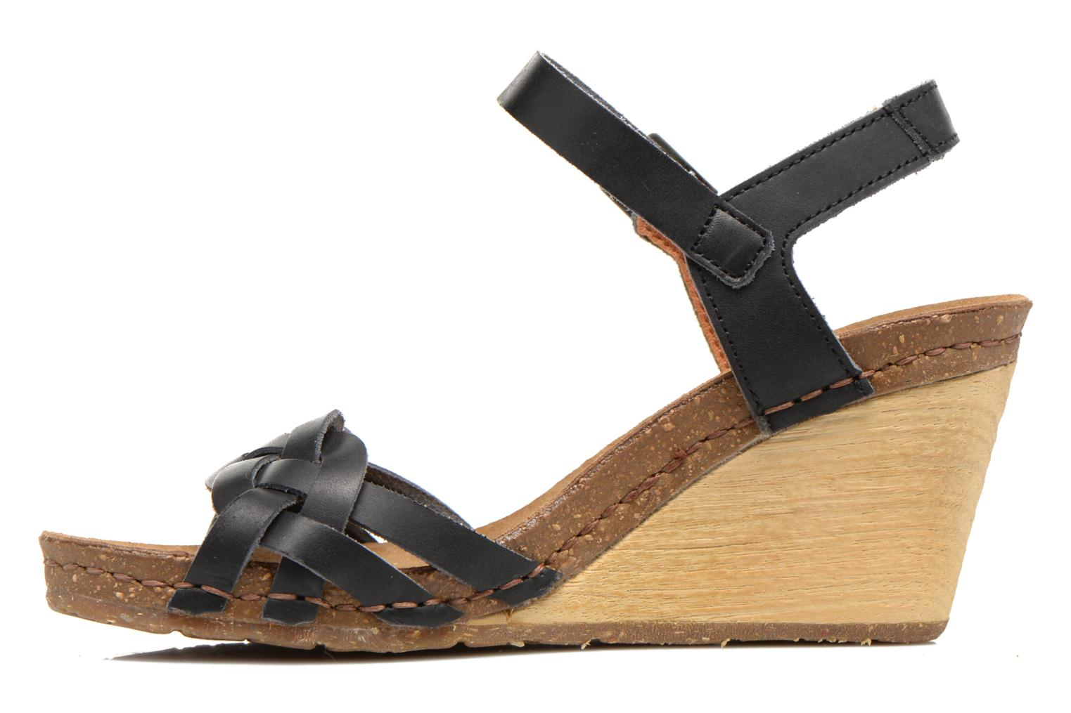 Sandals Art Valby 439 Black front view