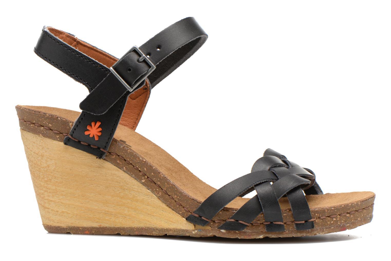 Sandales et nu-pieds Art Valby 439 Noir vue derrière