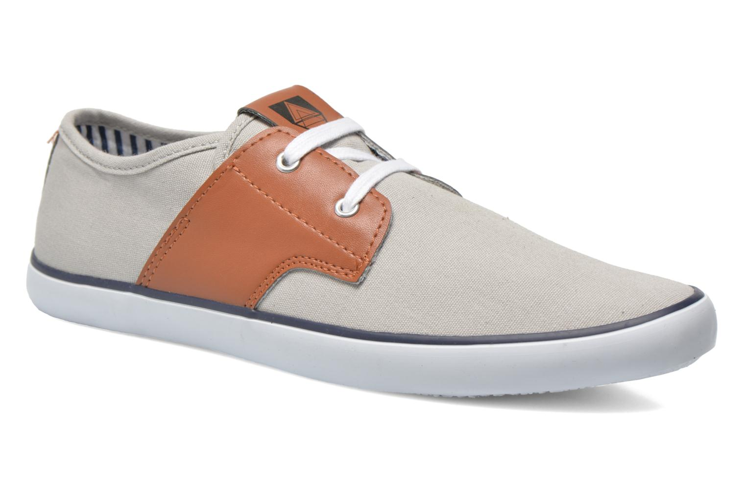 Baskets I Love Shoes Bavol Gris vue détail/paire