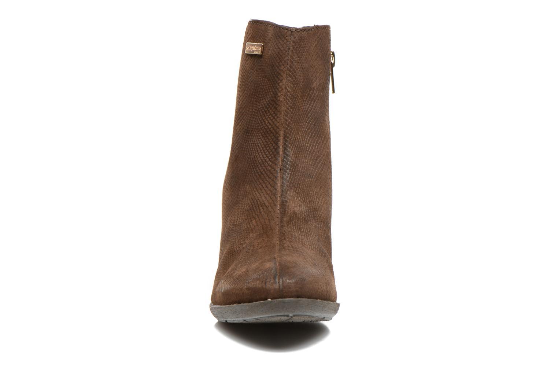 Bottines et boots Les Tropéziennes par M Belarbi Lune Marron vue portées chaussures