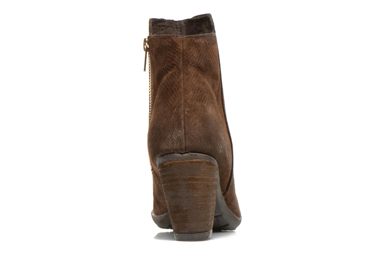 Ankle boots Les Tropéziennes par M Belarbi Lune Brown view from the right
