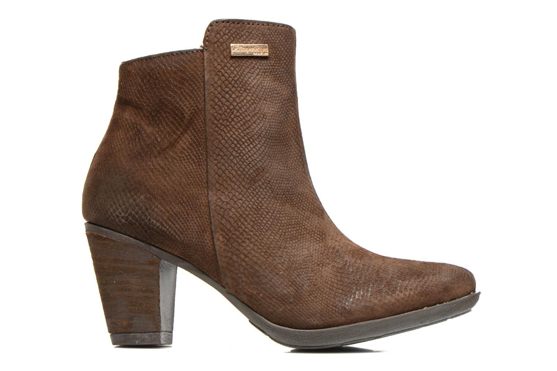 Ankle boots Les Tropéziennes par M Belarbi Lune Brown back view