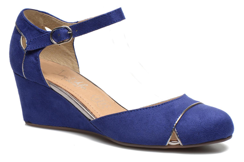 initiale paris clodette bleu escarpins chez sarenza 242625. Black Bedroom Furniture Sets. Home Design Ideas