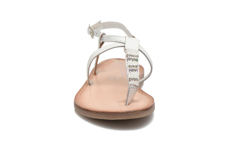 Sandaler Initiale Paris Miro Vit bild av skorna på