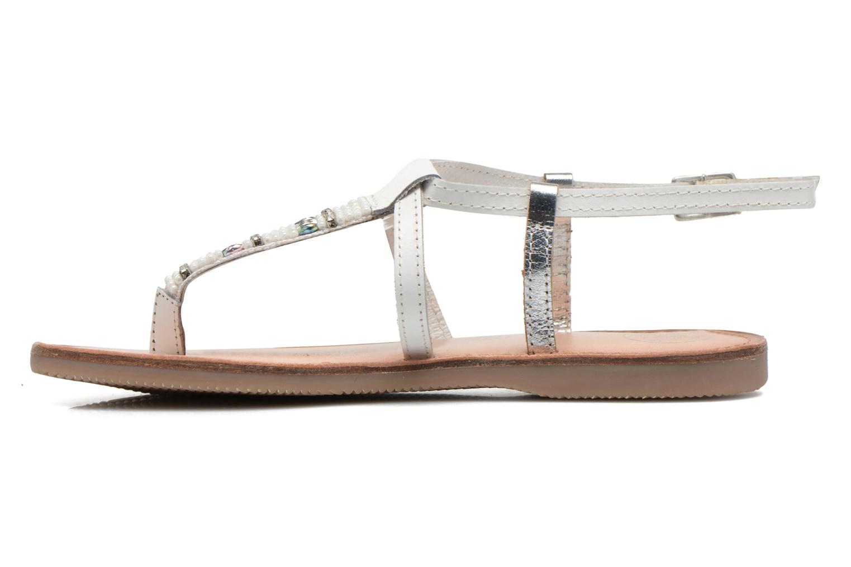 Sandali e scarpe aperte Initiale Paris Miro Bianco immagine frontale