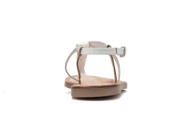 Sandali e scarpe aperte Initiale Paris Miro Bianco immagine destra