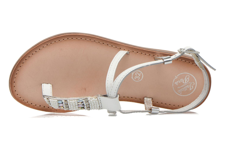 Sandali e scarpe aperte Initiale Paris Miro Bianco immagine sinistra