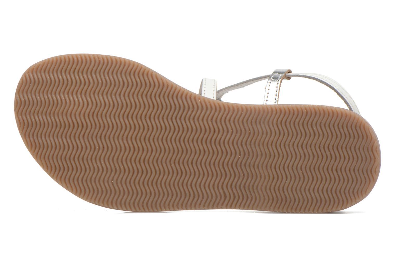 Sandali e scarpe aperte Initiale Paris Miro Bianco immagine dall'alto